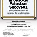 CONVITE III CICLO DE PALESTRAS SECOVI 2016