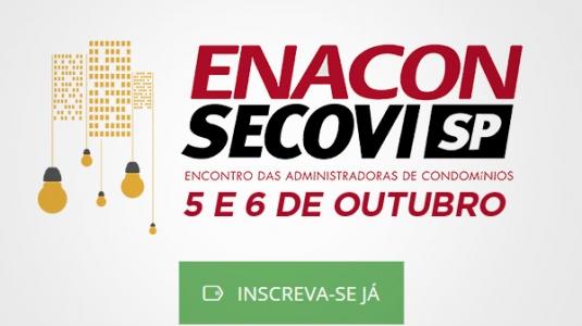 Encontro Nacional de Administradores de Condomínio acontece na primeira semana de outubro em São Paulo