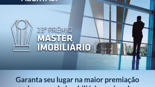 Prêmio Master  Imobiliário 2017 - Inscrições Abertas!