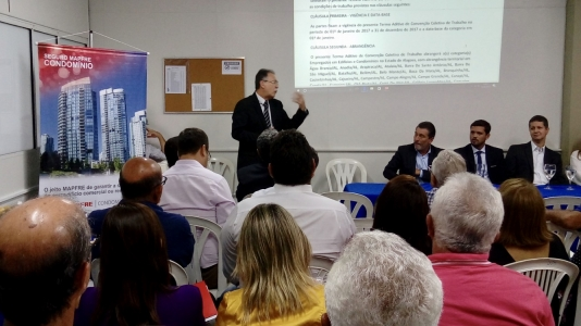 Secovi promove encontro para discutir CCT